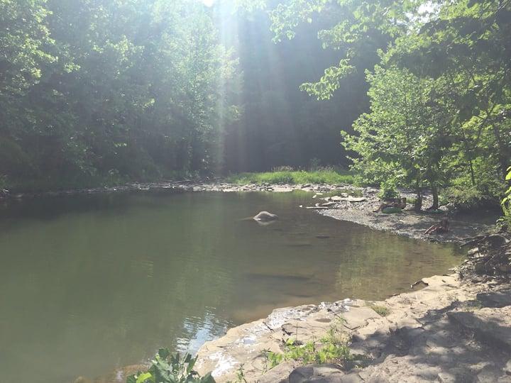 Local swimming hole.