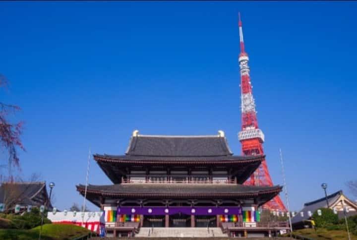 増上寺・東京タワー