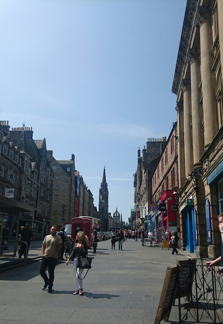 Up the Royal Mile