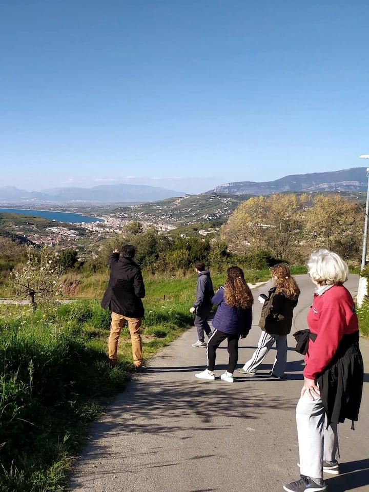 Panorama sul Cilento