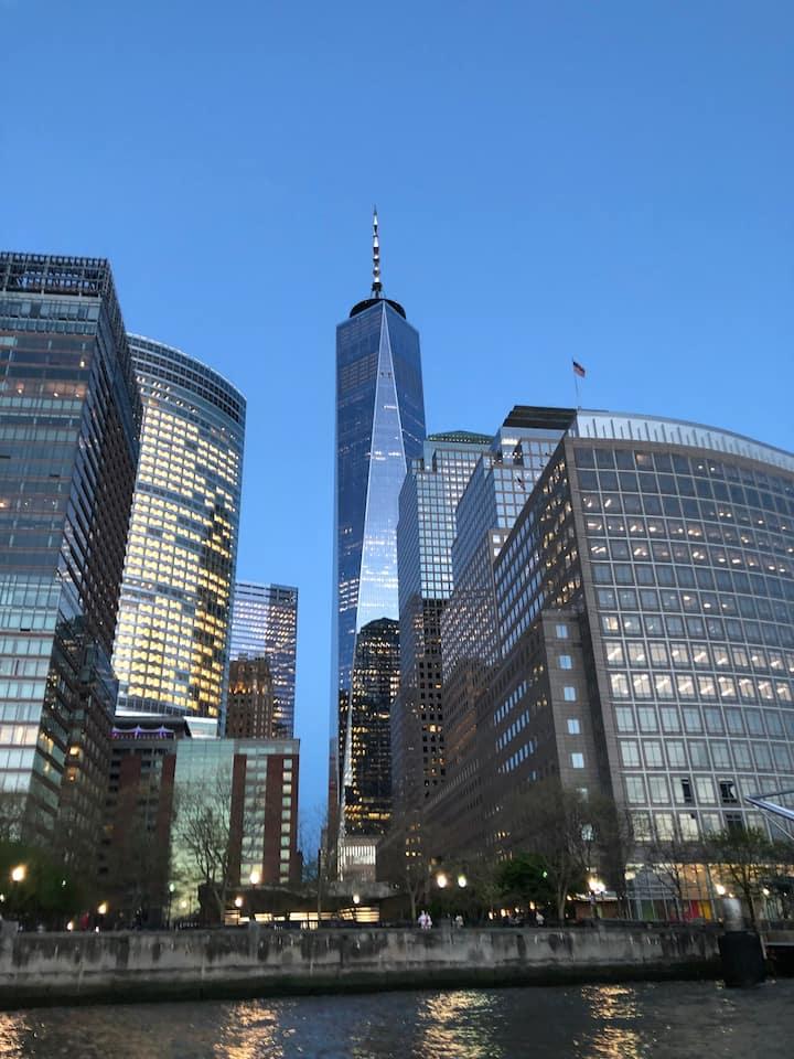 Downtown NYC views