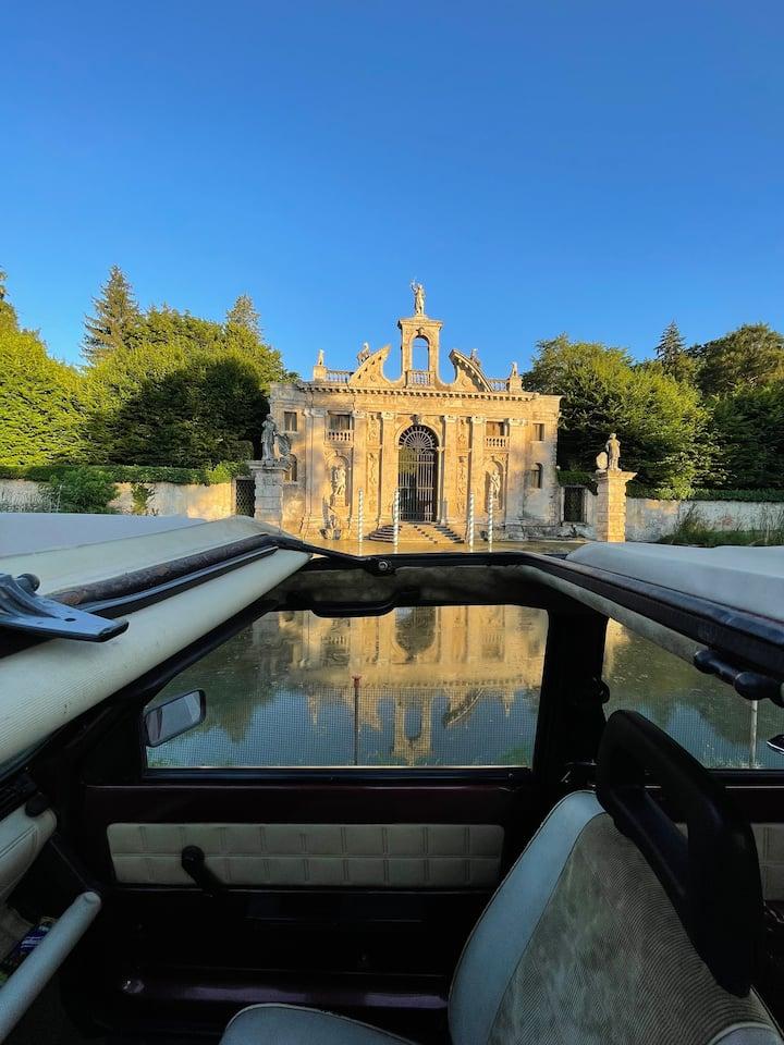 Il mio augurio è che l'esperienza del tour, nel giardino monumentate, diventi la vostra filosofia di vita.