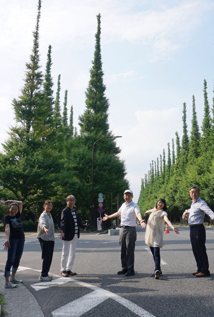 Gaien Ginkgo Trees Street acceptable ?
