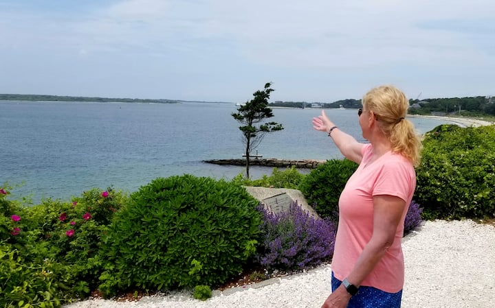 I'm pointing out Martha's Vineyard