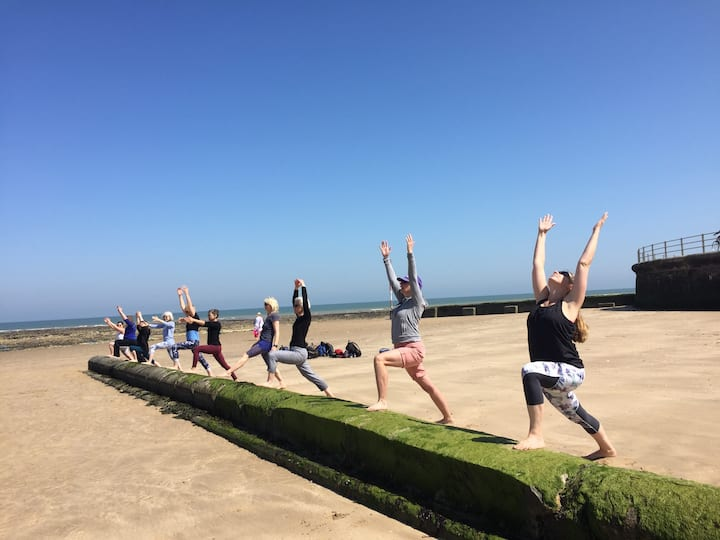 Get invigorated by the sea air