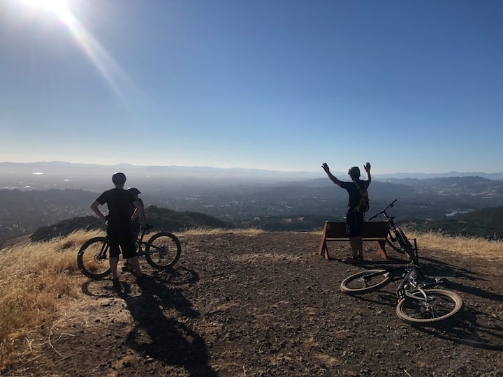 view from the top of annadel