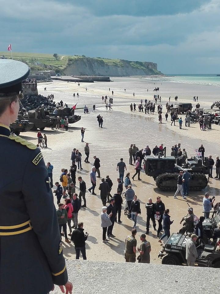 75th D-Day anniversary Arromanches
