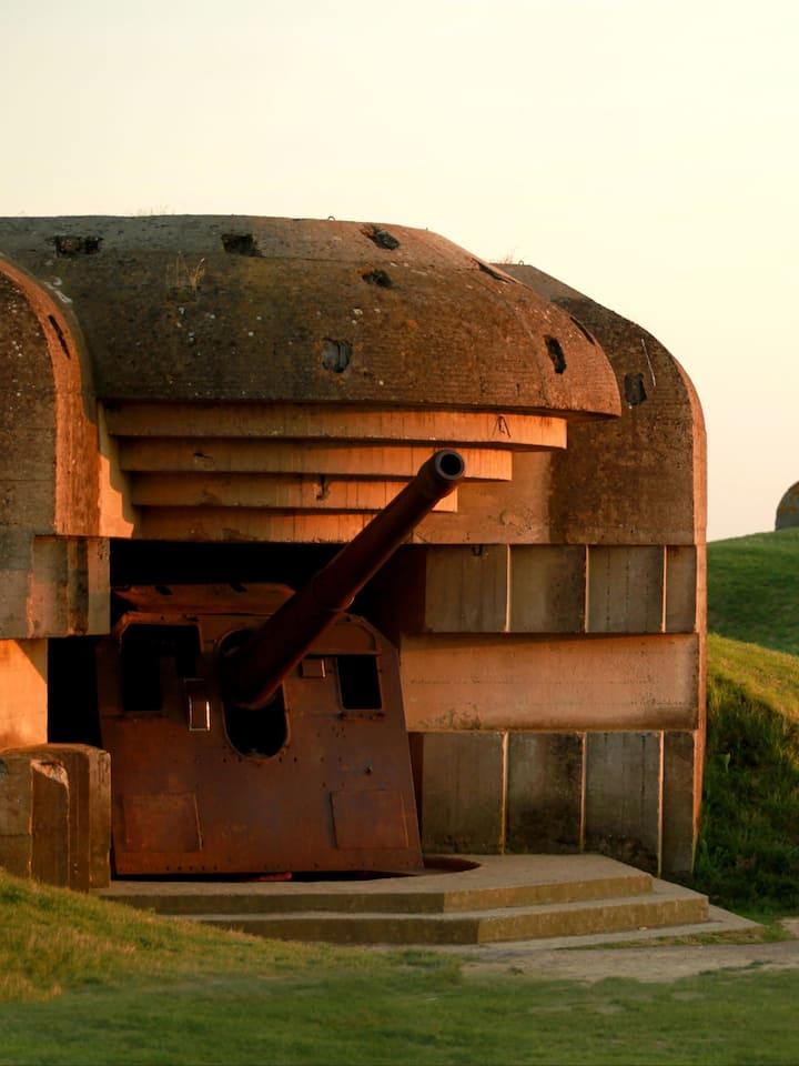 Longues Battery (Atlantic wall)