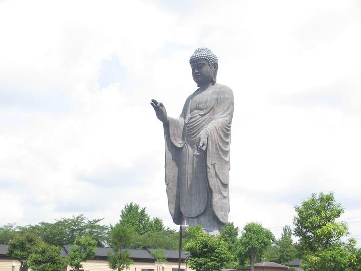 Ushiku big Buddha