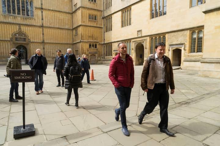 Christ church Harry Potter Oxford tour