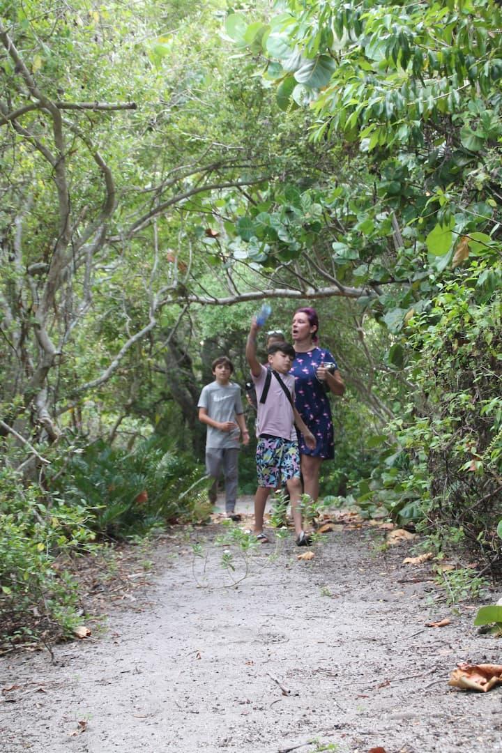Samson Island Jungle Trails