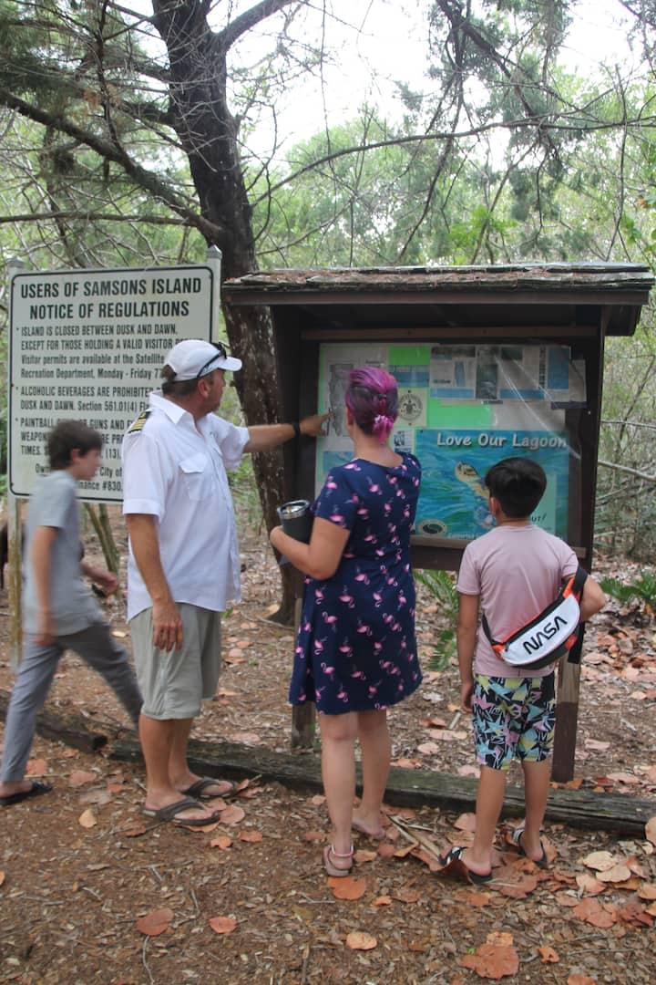 Briefing of Samson Island Map