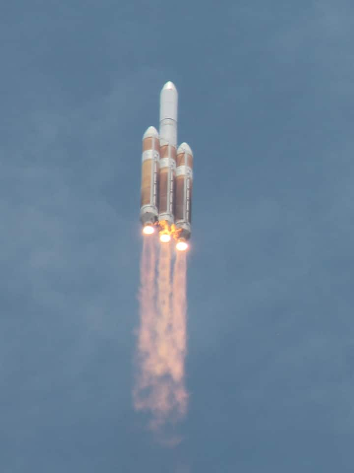 ULA Delta IV Launch photo from our boat