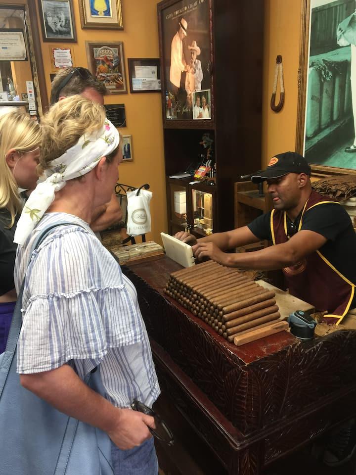 Little Havana is  a very vibrant area!