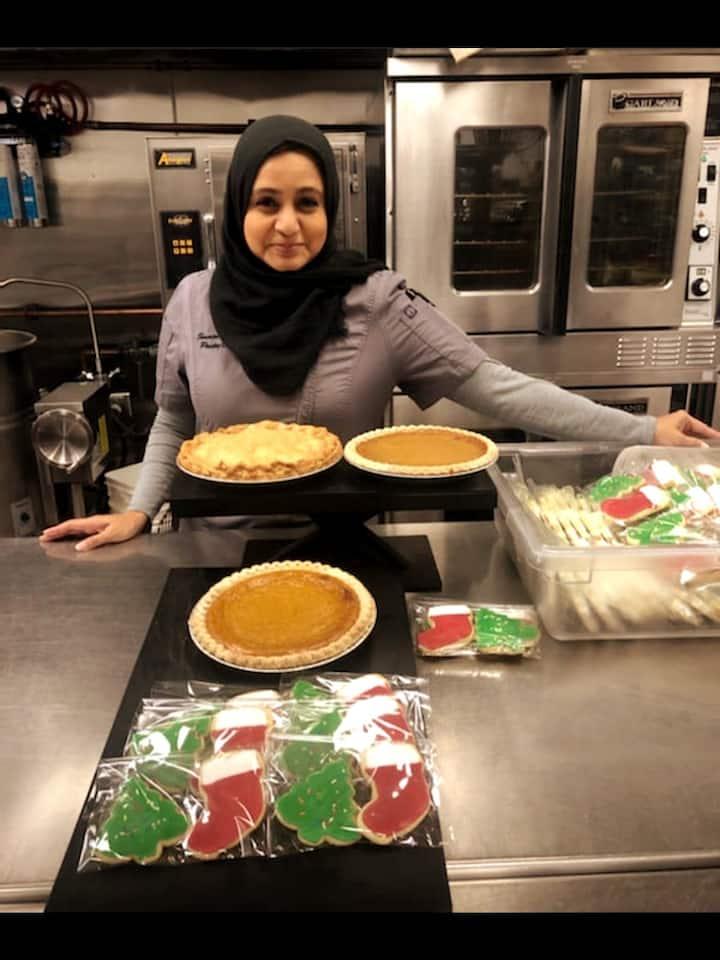 Say hello to Pastry Chef Samira!