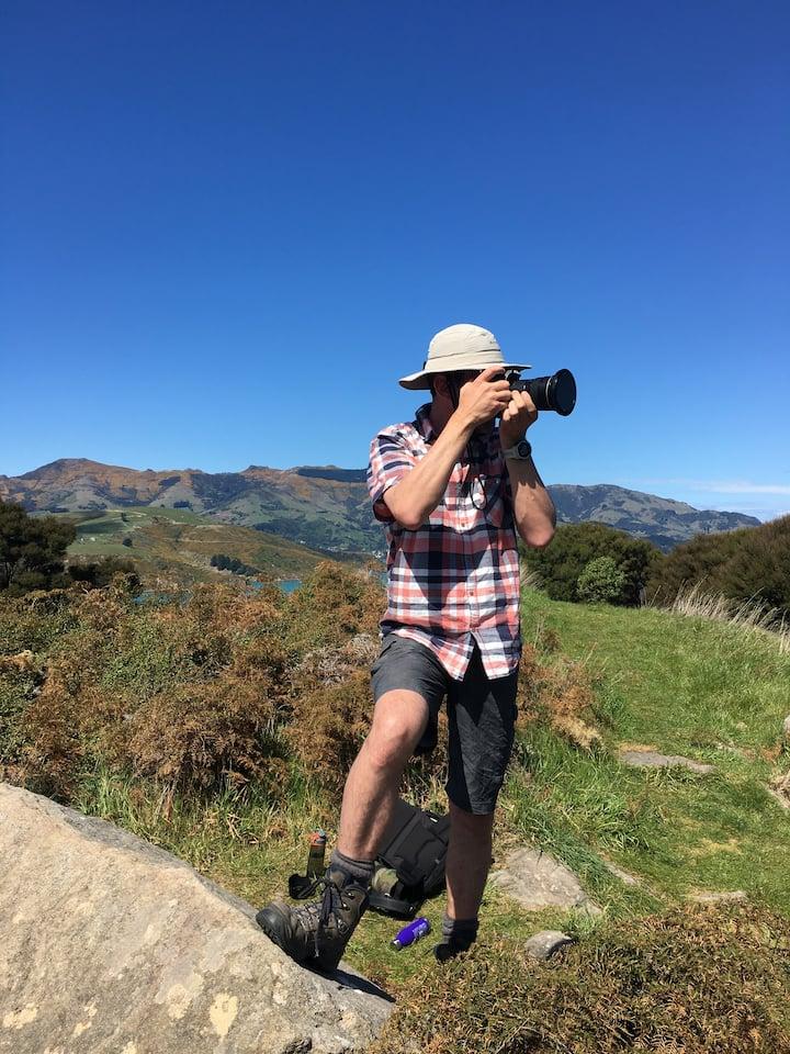 Yoann is  a keen nature photographer.