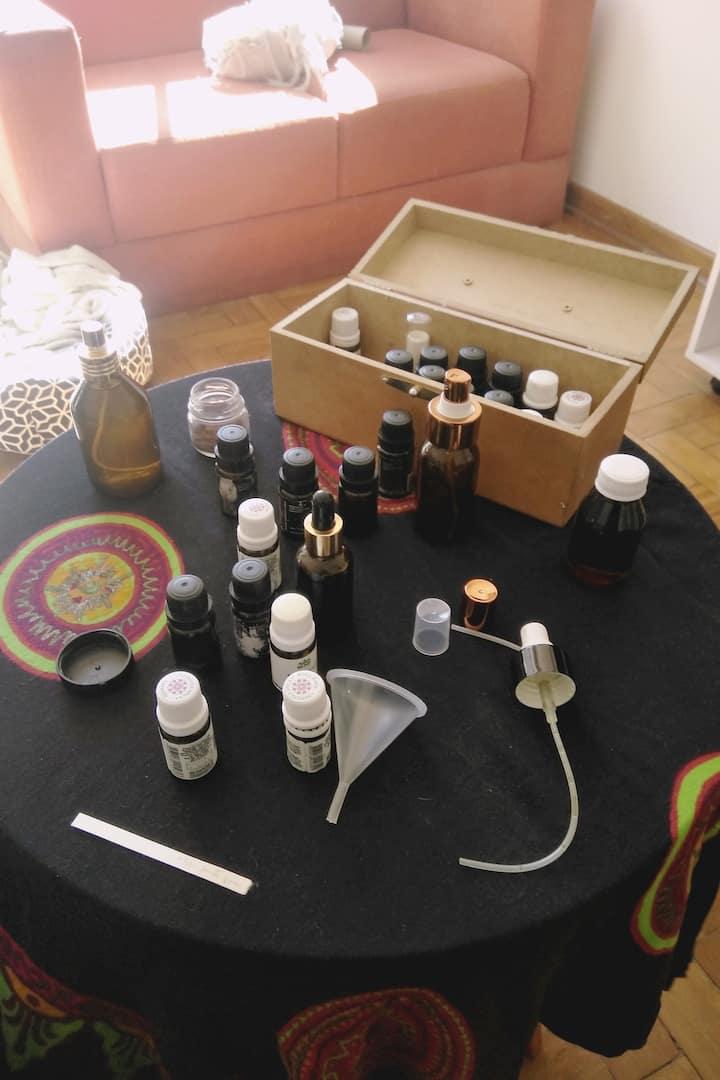 Atendimento em aromaterapia