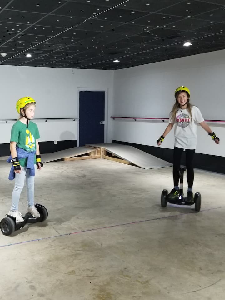 Learning to ride Self-balancing equipments aka hoverboards!