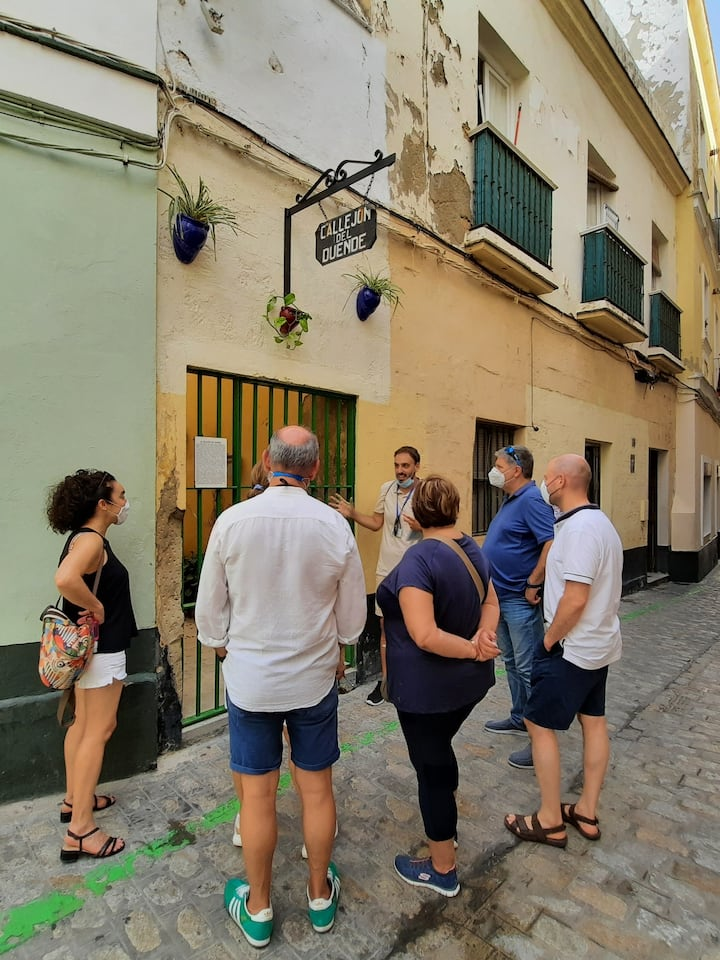 Exploring the medieval quarter
