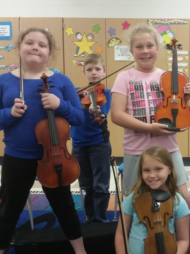 Children and adults alike love fiddling