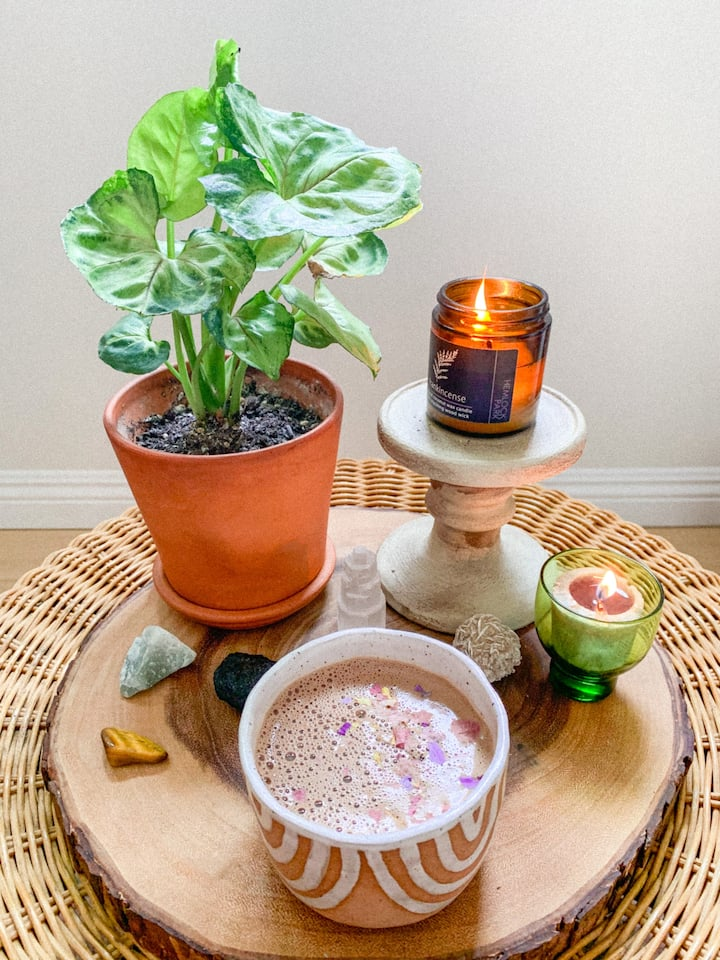 Enjoy a handcrafted cup of cacao