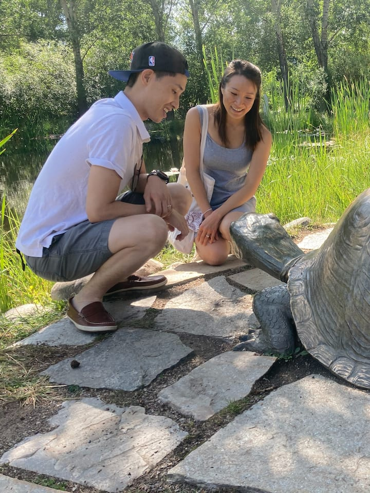 Tell the Turtle your happy nature story