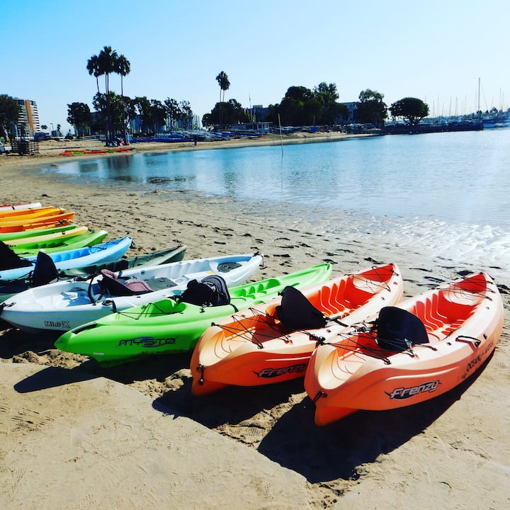 Pick your favorite color kayak.