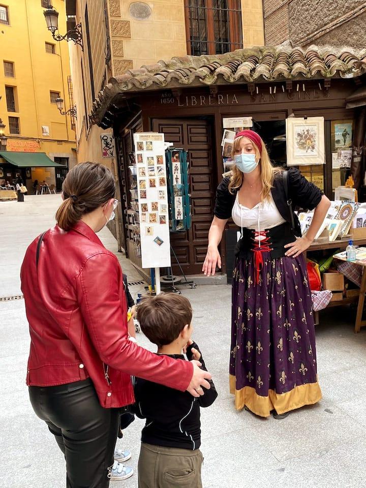 Catalina nos enseña sus rincones favoritos de Madrid.
