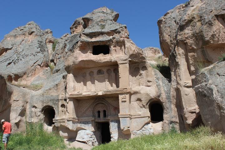 İhlara valley rock church