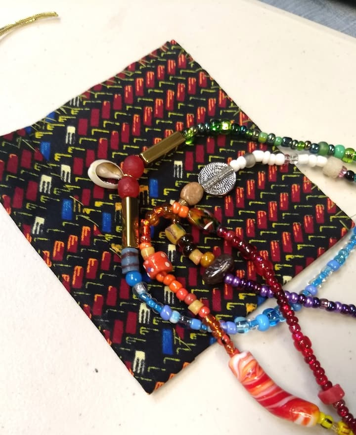 Done! Waistbeads & Pouch