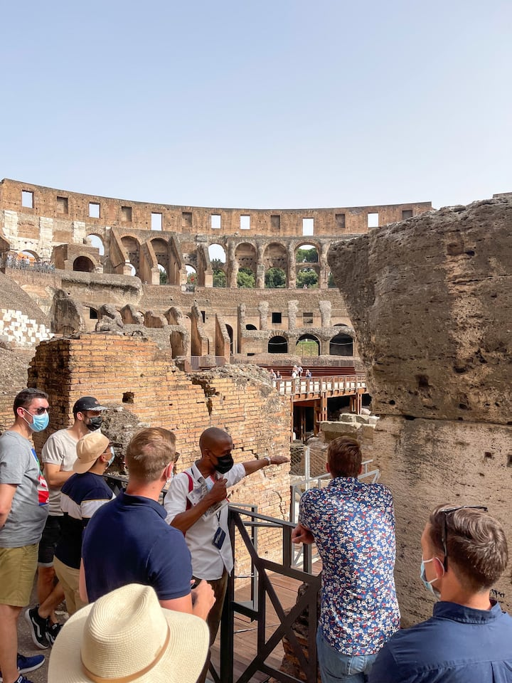 2nd Level of The Colosseum