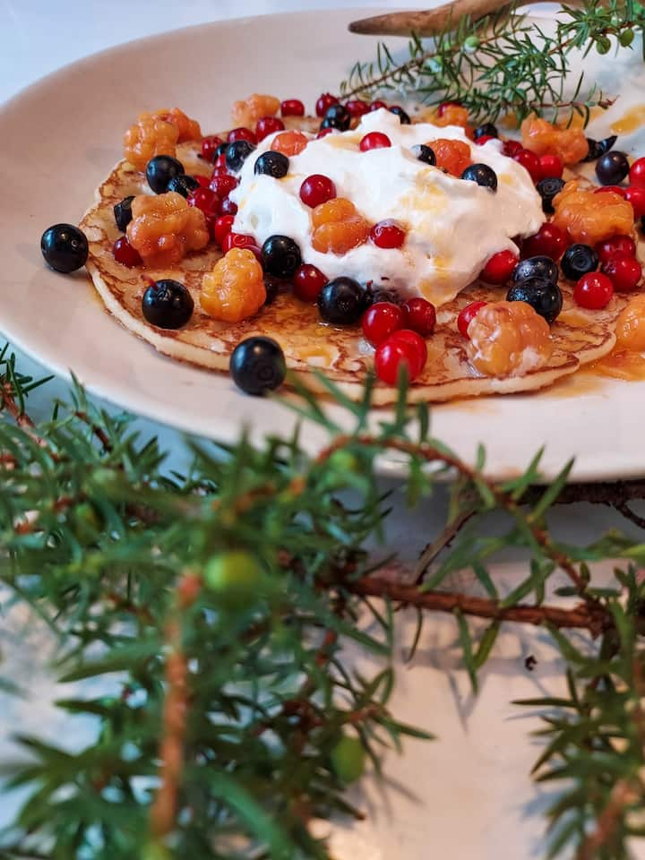 One above all; The undisputed favourite treat of Finland; Lätty with Berries – in this experience, it is presented by Santa Claus; It is hard to imagine how things could get more arcticly christmasy than this.