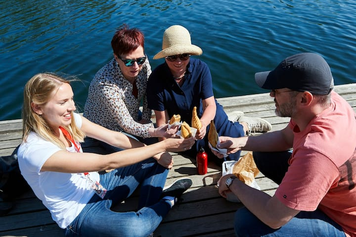 Trakai discovery with the local