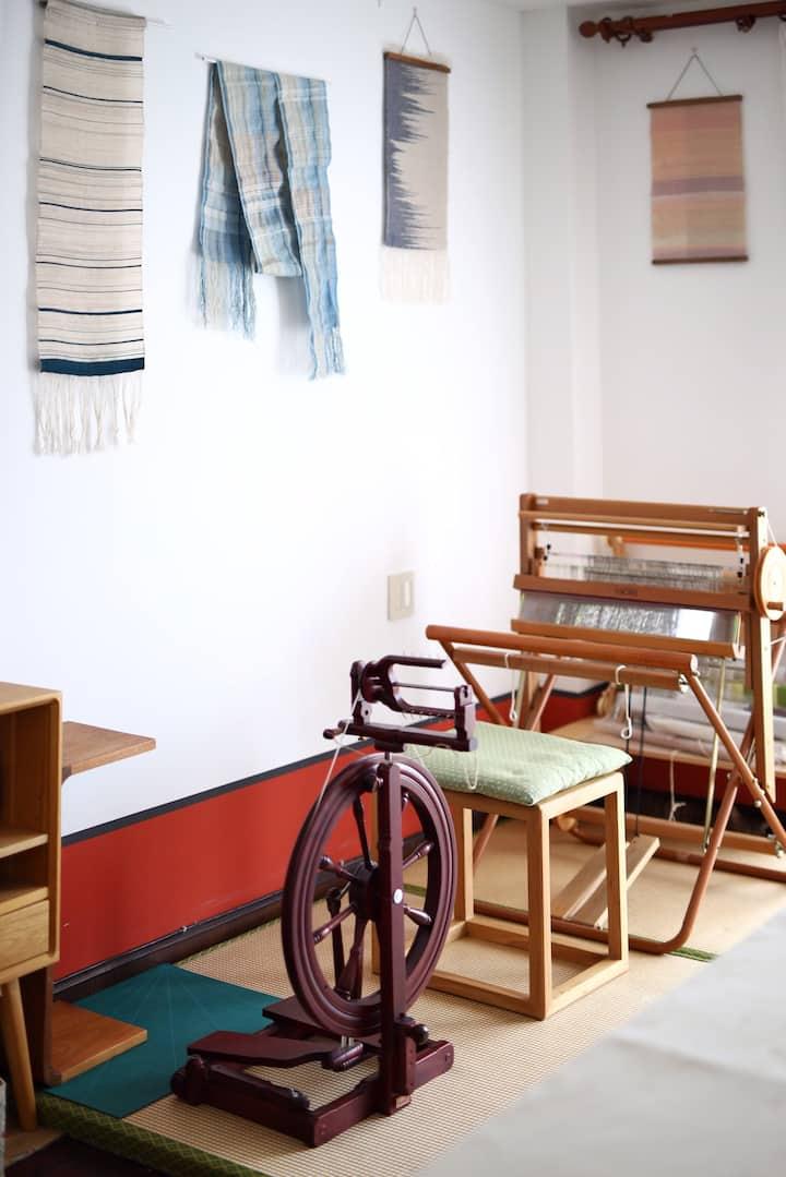 织布机和纺车