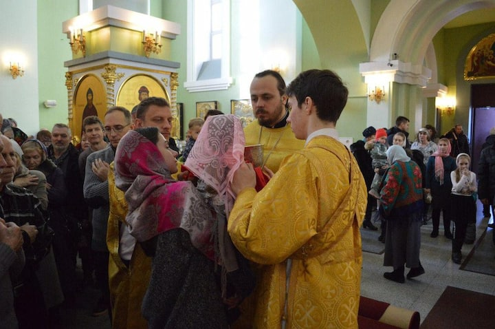 Russian traditional Church ceremony