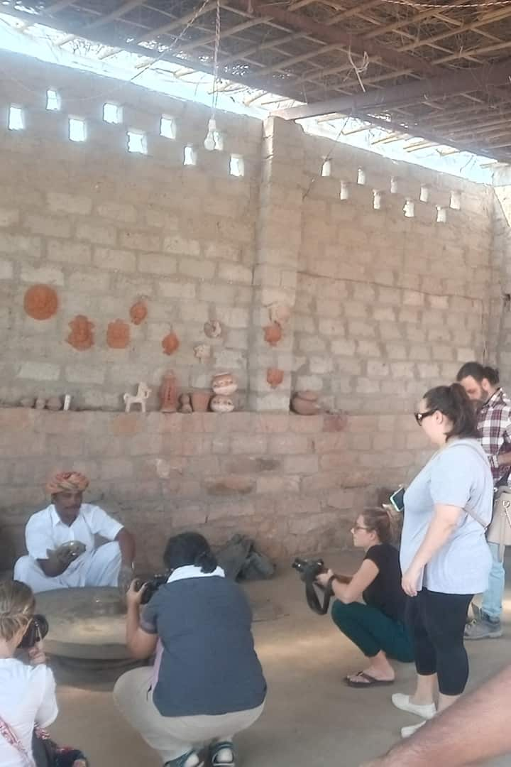 Experience clay pot making