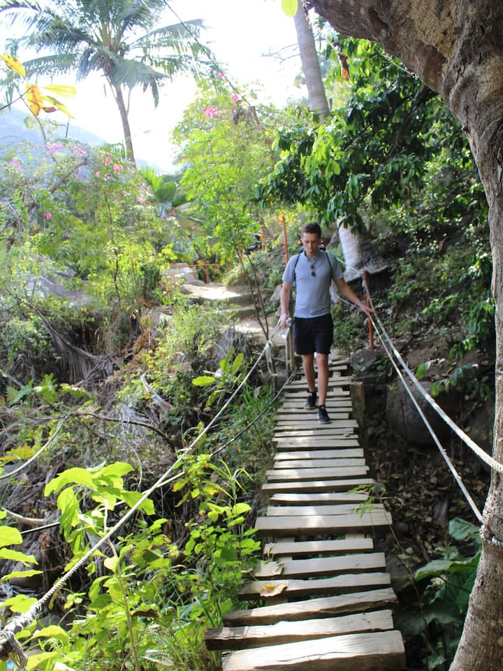 A hike only for the adventure seekers