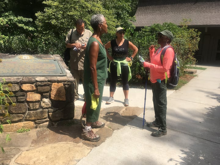 Engaging the hikers