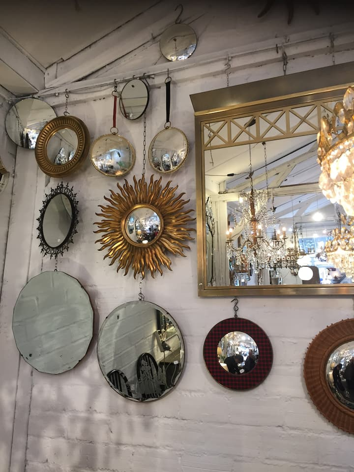 It's a goldmine for home decor...