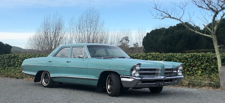 Classic NZ old school Pontiac