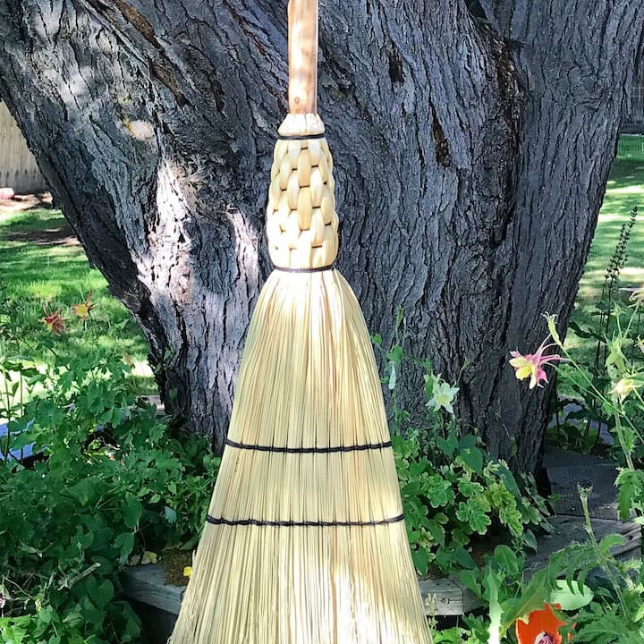 finished broom