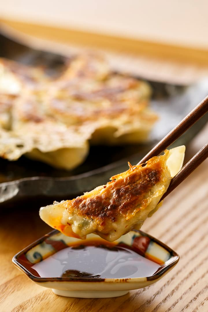 Let's make crispy Gyoza!