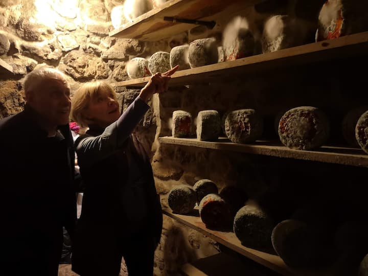 cheese maturing caves
