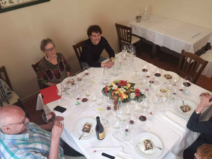 personalised wine and food pairing