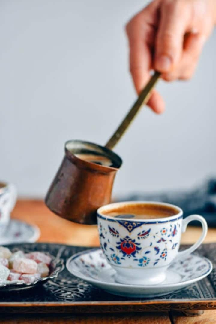 Turkish coffee experience