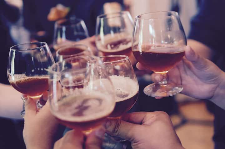 cheers at the milonga