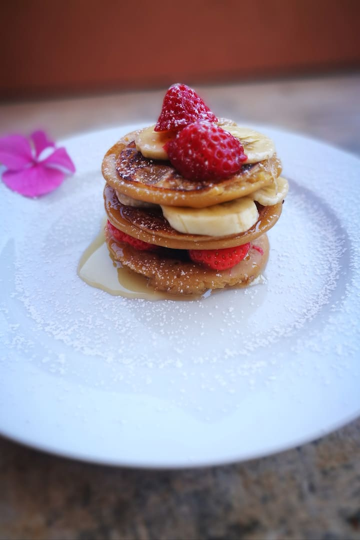 pancake  proteico dolce o salato