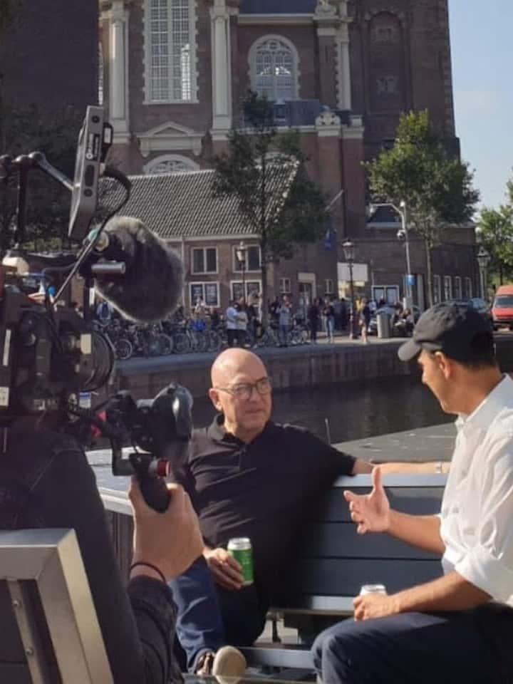 Me with TV-presenter Gregg Walllace