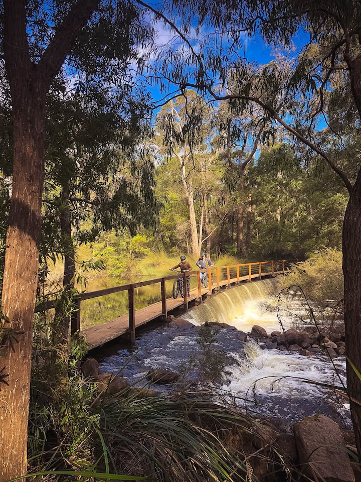 Crossing the Margaret River