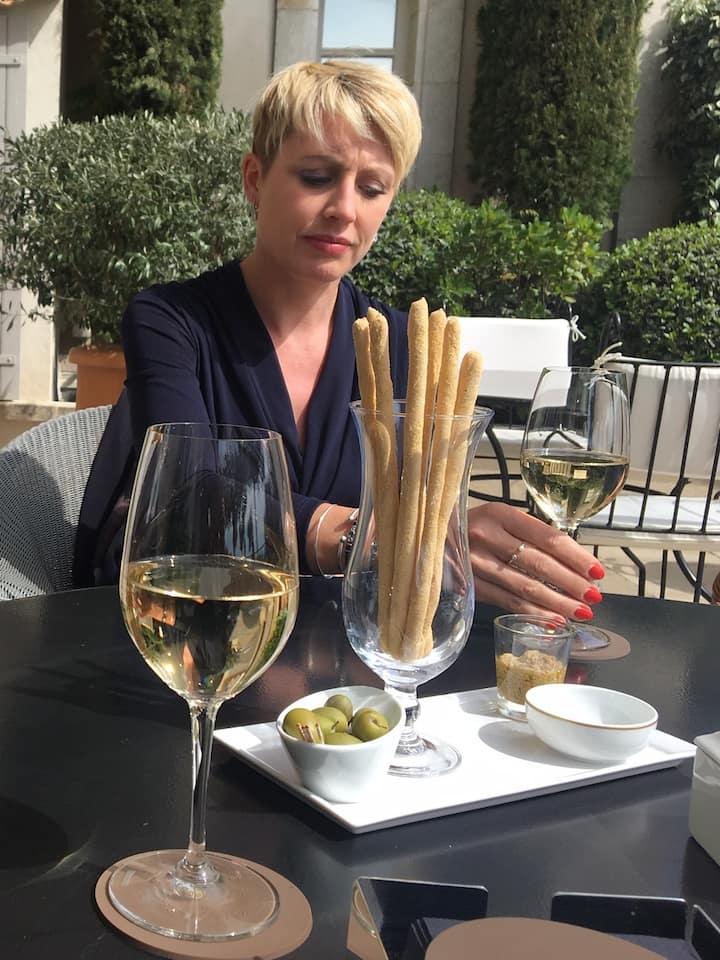 The four steps to taste a wine !